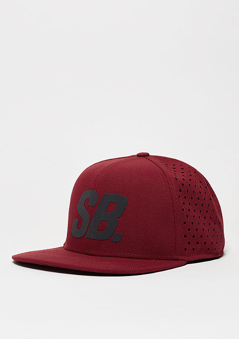 NIKE SB Trucker-Cap Reflect Perf team red/black/reflect black