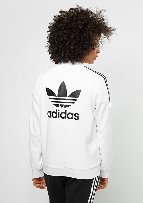 adidas Trainingsjacke 3S Bomber white