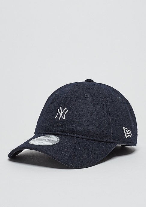 New Era Baseball-Cap Wool MLB New York Yankees navy