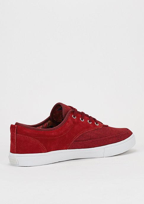 Djinn's Schuh Dockside Linen Skin red