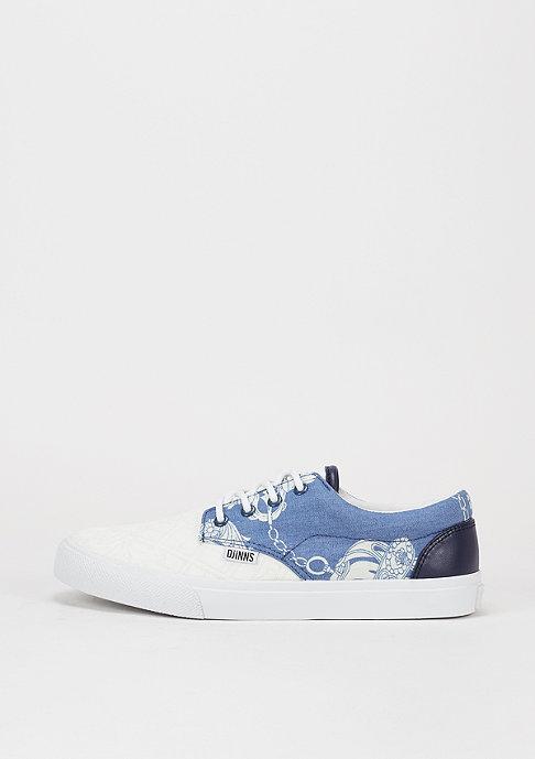Djinn's Schuh Nice Crazy Pattern white/anchor