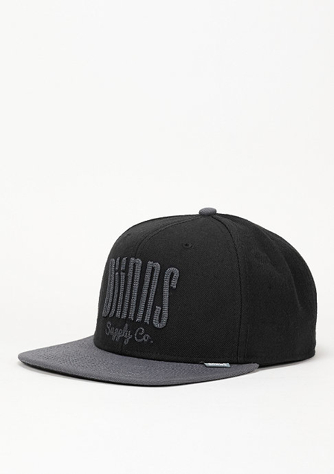 Djinn's Snapback-Cap 6P Citiation Dark Basics black