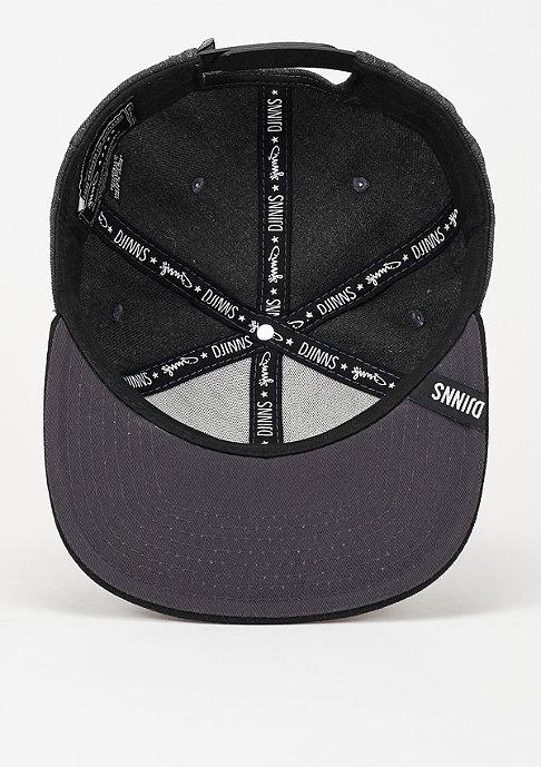 Djinn's Snapback-Cap 6P Citiation Dark Basics dark grey