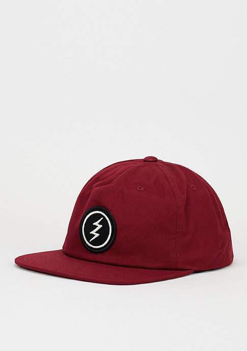 Electric Snapback-Cap New Uniform burgundy