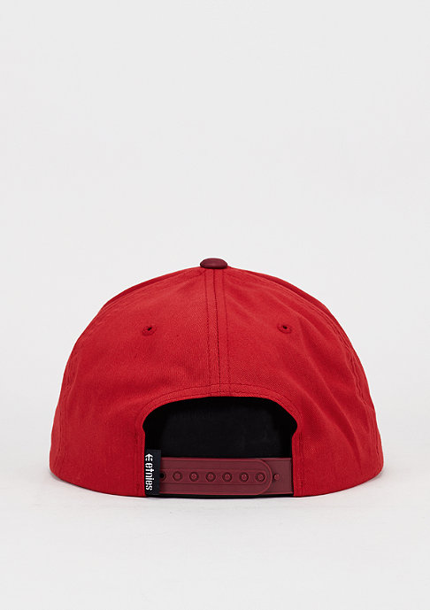 Etnies Snapback-Cap Corporate 5 red