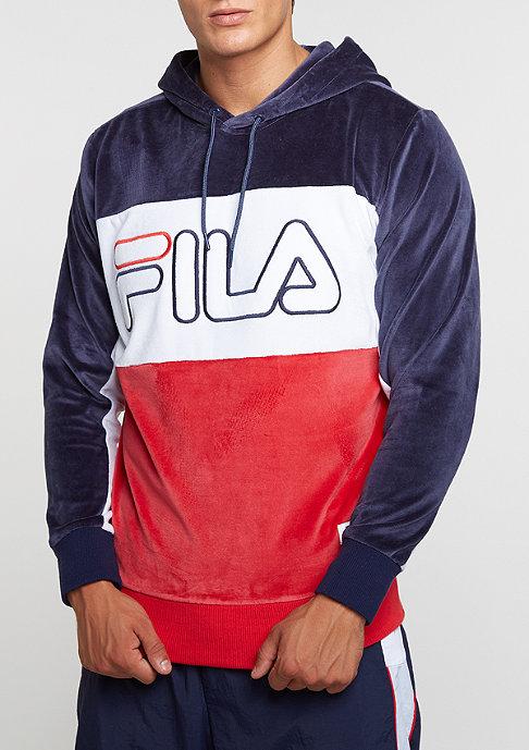 Fila Hooded-Sweatshirt Baggio blue/red