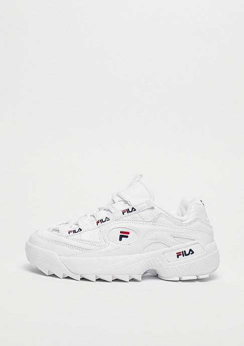 D Formation White/Fila Navy/Fila Red