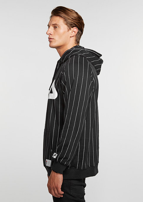 Fila Hooded-Sweatshirt Kreed black pinstripe