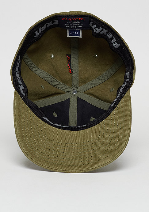 Flexfit Baseball-Cap Garment Washed Cotton Dad loden