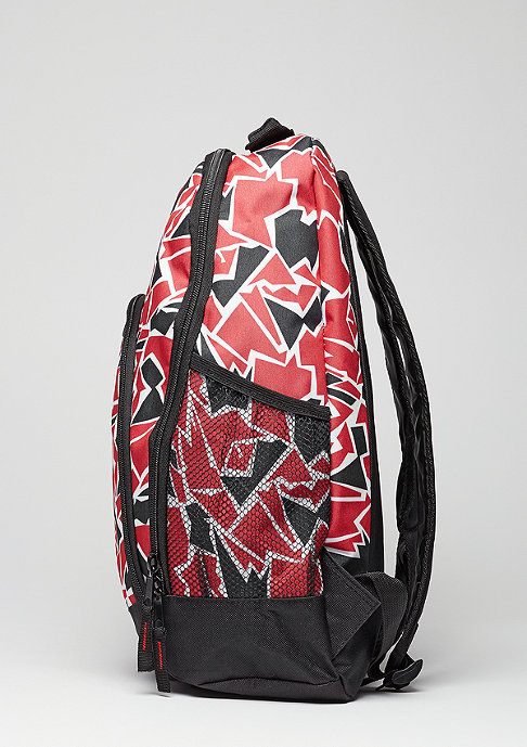 Forever Collectibles Rucksack Camouflage NBA Chicago Bulls red