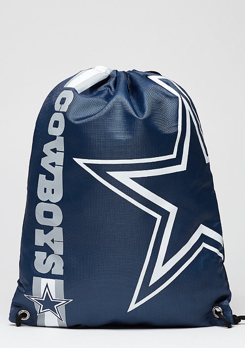 Forever Collectibles Turnbeutel Cropped Logo NFL Dallas Cowboys navy