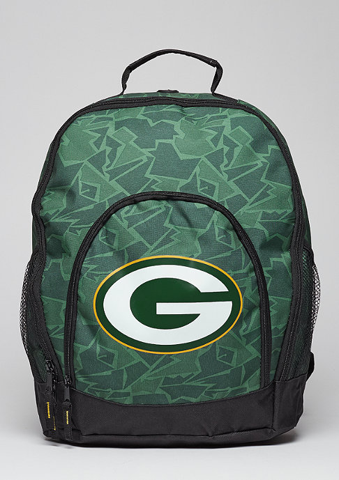 Forever Collectibles Rucksack Camouflage NFL Green Bay Packers green