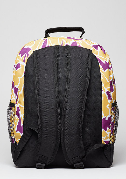 Forever Collectibles Rucksack Camouflage NBA Los Angeles Lakers yellow