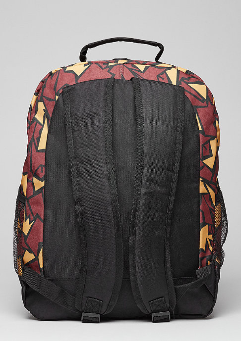 Forever Collectibles Rucksack Camouflage NBA Miami Heat burgundy
