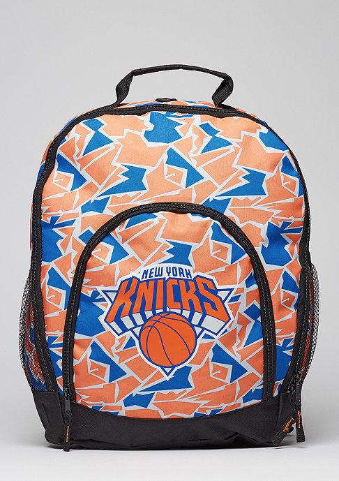 Forever Collectibles Rucksack Camouflage NBA New York Knicks orange