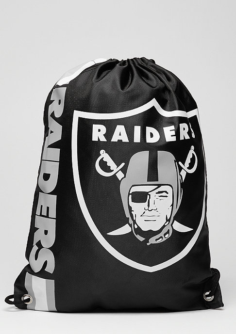 Forever Collectibles Turnbeutel Cropped Logo NFL Oakland Raiders black