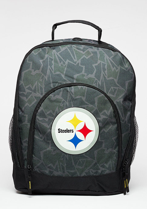 Forever Collectibles Rucksack Camouflage NFL Pittsburgh Steelers black