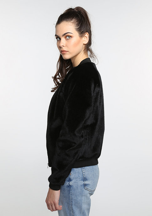 Future Past Übergangsjacke Fur Bomber black
