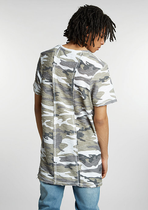 Future Past T-Shirt Knit taupe camouflage