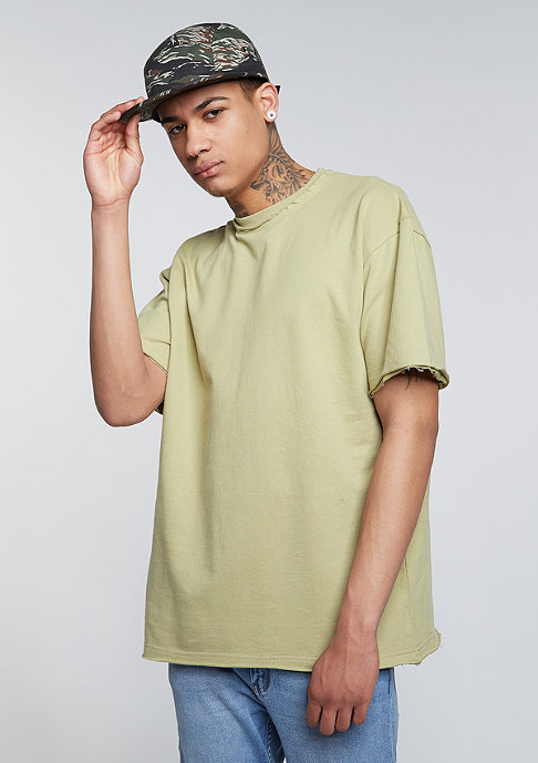 Future Past T-Shirt Oversized light olive