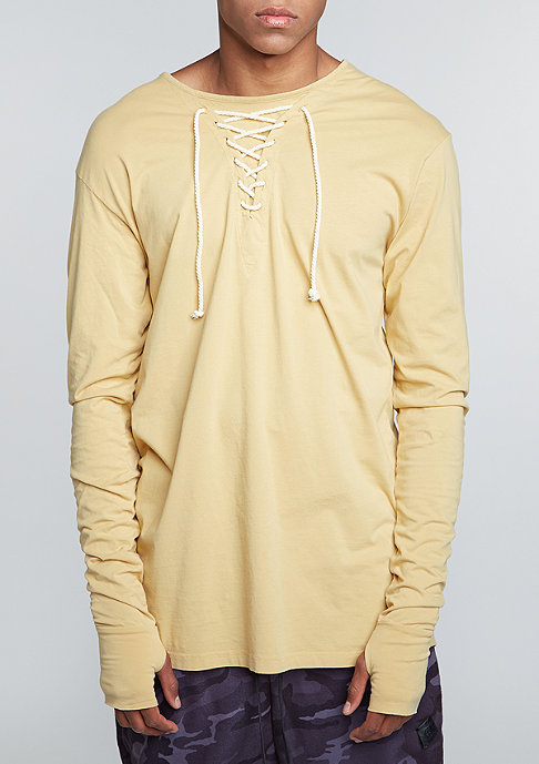 Granted Longsleeve Laced Neckline tan