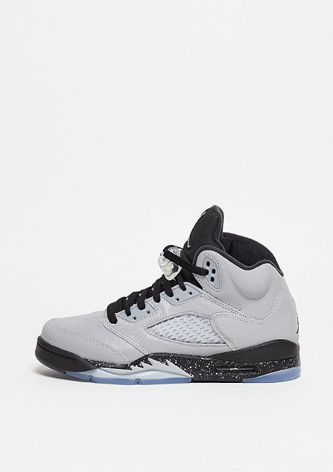 JORDAN Basketballschuh Air Jordan 5 Retro (GS) wolf grey/black/black