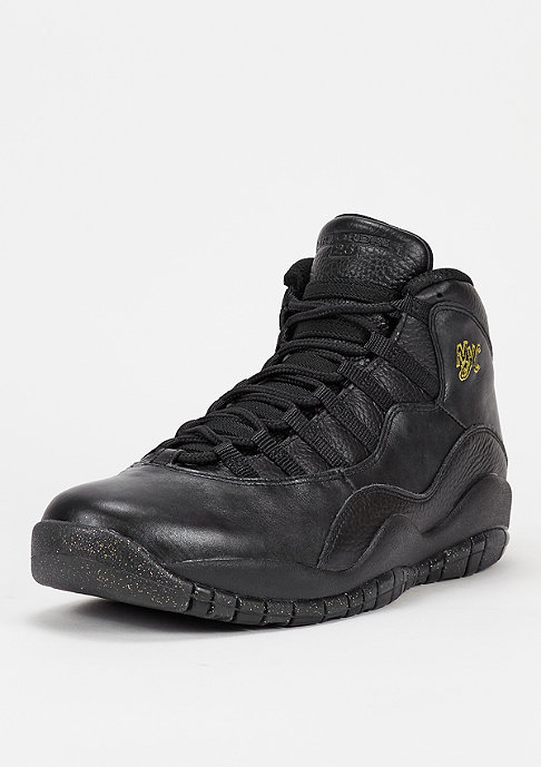 JORDAN Basketballschuh Air Jordan 10 Retro black/black/dark grey/metallic gold