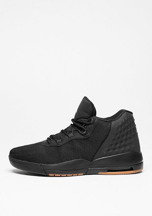 JORDAN Basketballschuh Academy black/anthracute/gum med brown