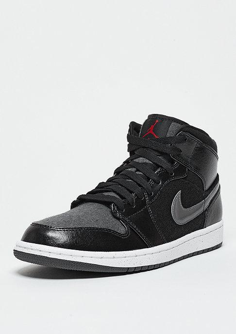 JORDAN Basketballschuh Air Jordan 1 Mid Winterized black/gym red/grey/white