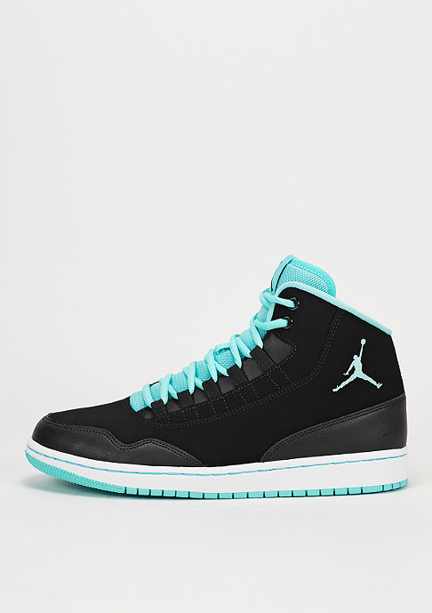 JORDAN Basketballschuh Executive black/hyper turquoise/white