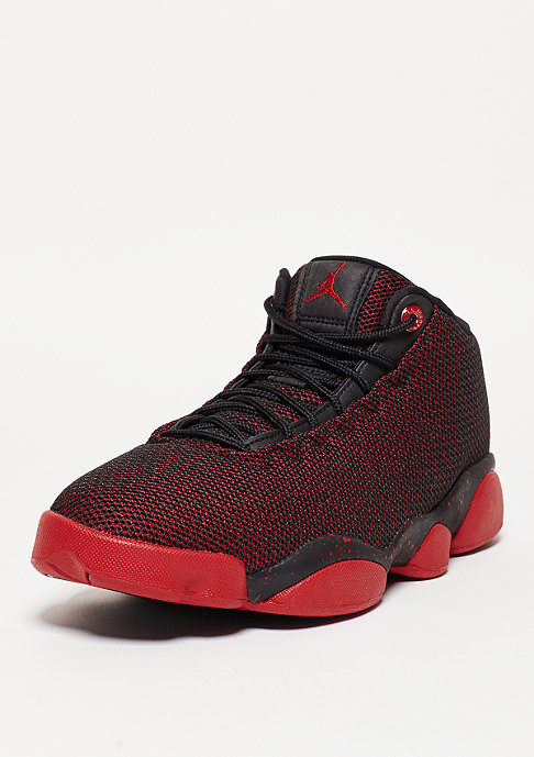 JORDAN Basketballschuh Horizon Low black/gym red/white
