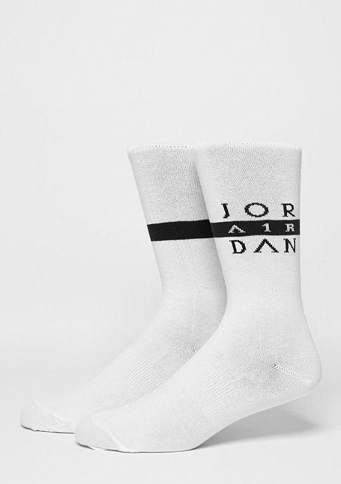 JORDAN Fashionsocke Seasonal Print Crew white/black