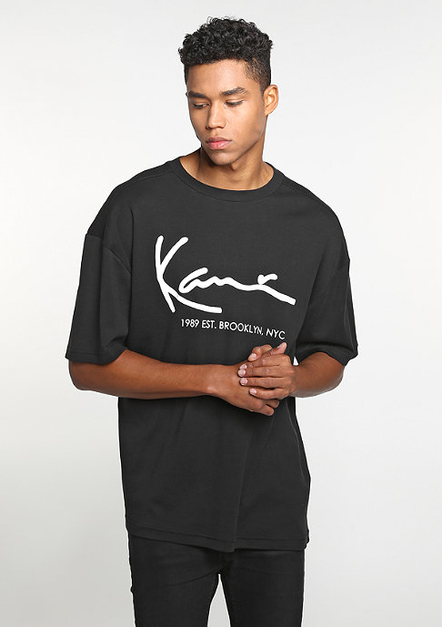 Karl Kani T-Shirt Retro black