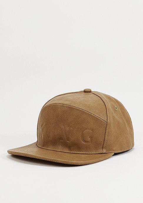 King Apparel Snapback-Cap Executive camel