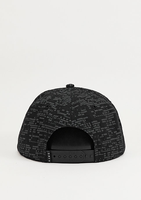King Apparel Snapback-Cap Matrix black