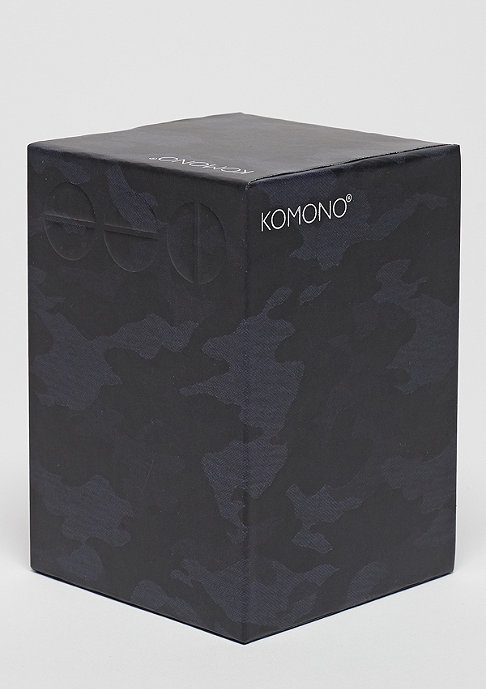 Komono Uhr Winston Print camo black