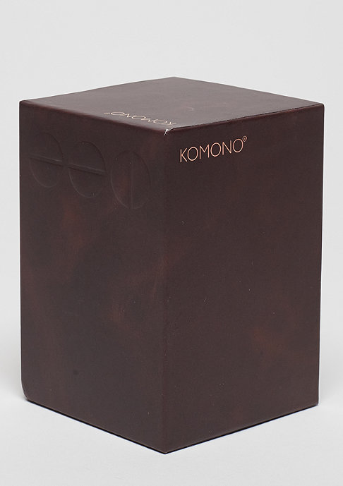 Komono Uhr Winston Regal burgundy