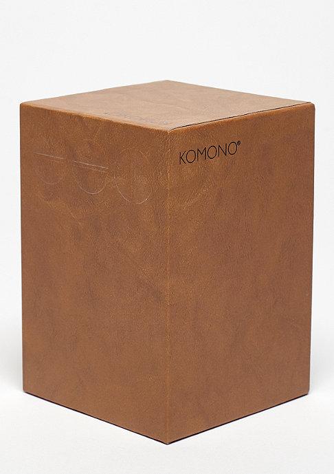 Komono Uhr Winston Regal cognac