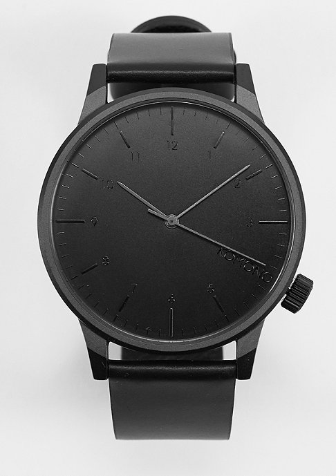 Komono Uhr Winston Regal all black