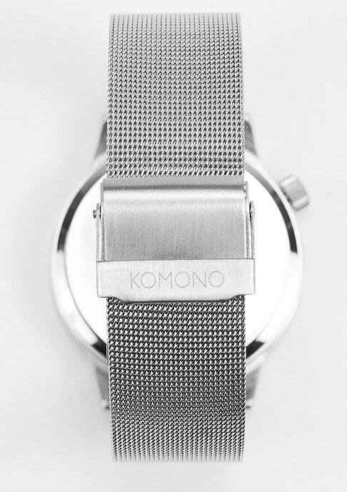 Komono Uhr Winston Regal silver