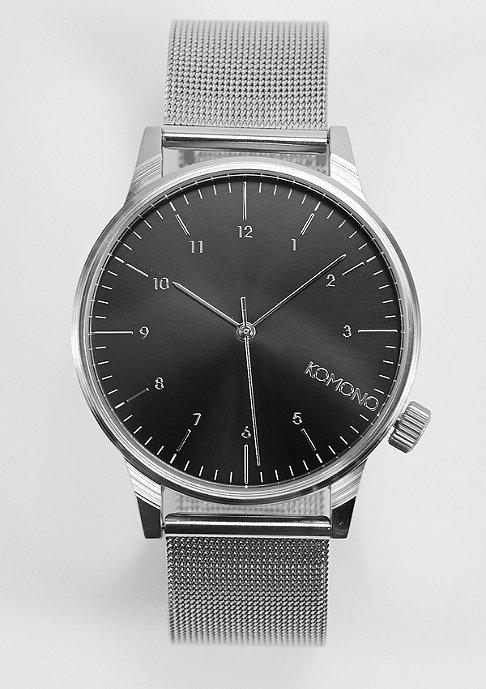 Komono Uhr Winston Royale silver/black