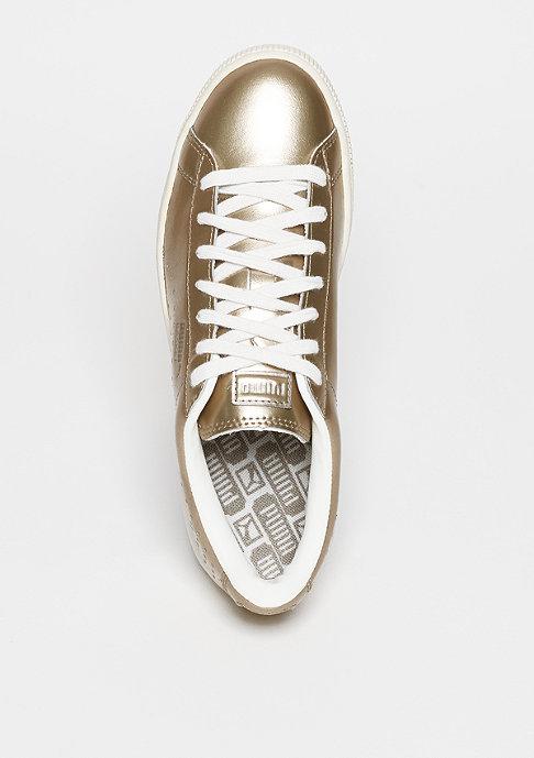 Puma Basket Classic Metallic silver/gold puma/white/whisper white