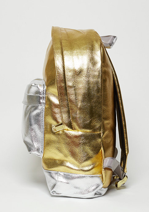 Mi-Pac Rucksack Gold 24K gold/silver