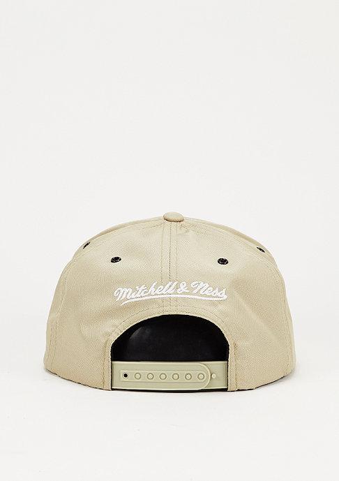 Mitchell & Ness Snapback-Cap Board khaki