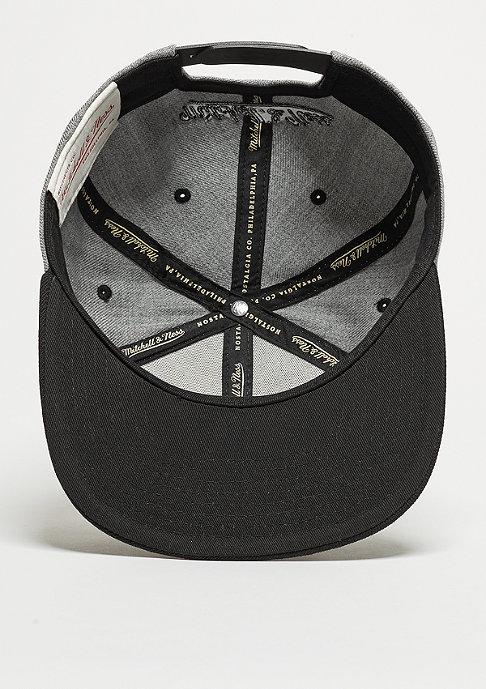 Mitchell & Ness Snapback-Cap Box Logo heather grey/black