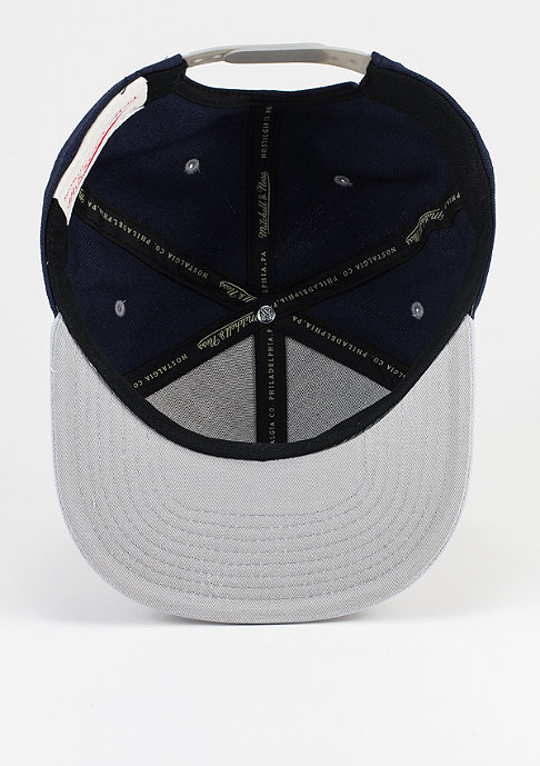 Mitchell & Ness Snapback-Cap Box Logo navy/grey