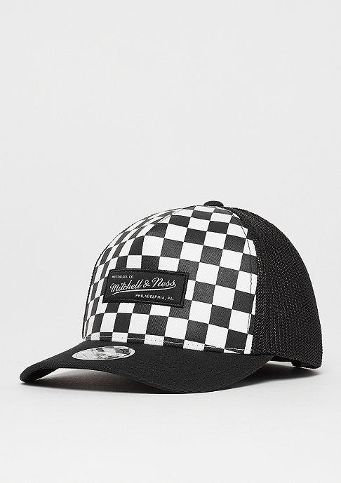 Checkered Trucker 110 white/black