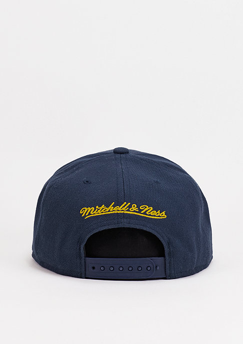 Mitchell & Ness Snapback-Cap Wool Solid MLS Los Angeles Galaxy navy