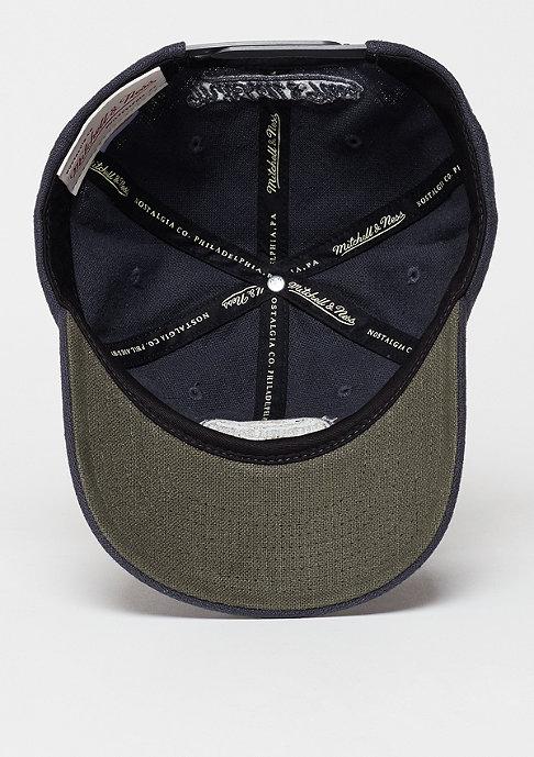 Mitchell & Ness Snapback-Cap Linen Slouch grey
