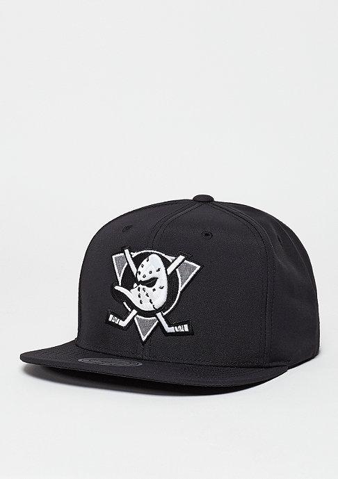 Mitchell & Ness Snapback-Cap Milo NHL Anaheim Ducks black